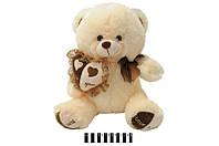 Мягкая игрушка Мишка с сердечком музыкальный 1470/40 сидячий 40 см