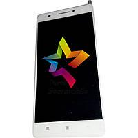 Дисплей для мобильного телефона Lenovo A7600/S8, белый, с тачскрином