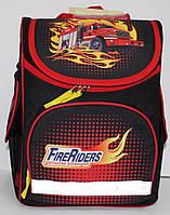 Ранец-Рюкзак школьный каркасный ортопедический Kite Hot Wheels GO17-5001S-6