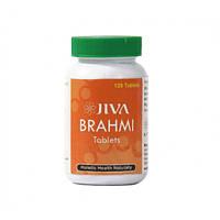 Брами - средство для стимулирования и укрепления нервных и мозговых клеток / Brahmi, Jiva / 120 таб