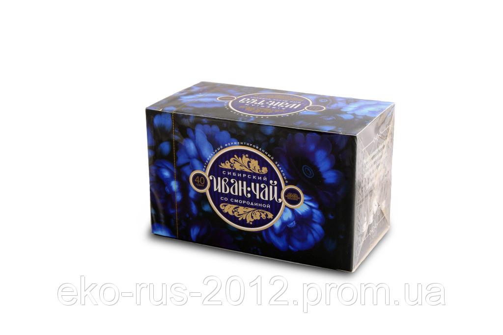 Иван-чай листовой, смородина 50г. фильтр пакет