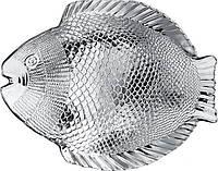 Марине 10257/sl-тарелка рыба.-1шт-260х210мм