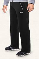 Спортивные брюки большого размера F50 - 30107C черные