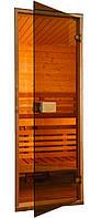 Двери для сауны и бани SAUNAX Classic – Прозр. Бронза - 60х190, 70х190, 70х200, 80х200, 80х210 – Универс.