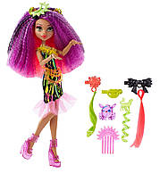 Монстер хай Клодин Вульф Monster High Electrified Monstrous Hair Ghouls Clawdeen Wolf