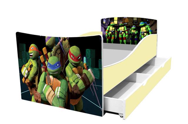 Кровать nindja turtles