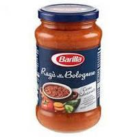 Соус натуральный томатный Barilla Ragu alla Bolognese с мясным фаршем, 400 гр.