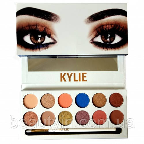 Набор теней KYLIE Jenner The Royal Peach Palette 12 цветов