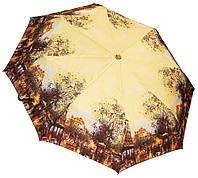 Роскошный женский зонт SH02689AC yellow