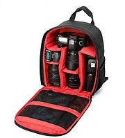 Рюкзак для фотоаппарата, сумка для фотоаппарата зеркального Red