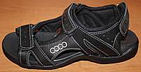 Босоножки подросток кожаные, летняя обувь для мальчика от производителя модель ВИ258