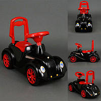 Машинка-каталка Ретро 900 Орион, черный