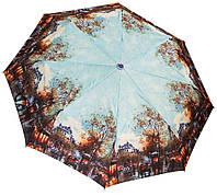 Роскошный женский зонт SH02689AC blue
