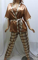 Платье штапельное с коротким рукавом, размер от 54 до 64, фото 2