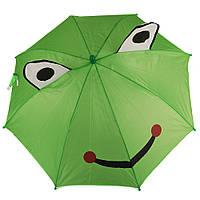 Зонт детский 3D 8358 smile frog