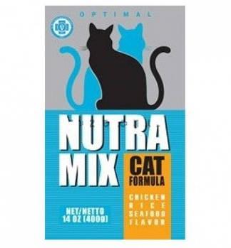 Сухой корм Nutra Mix Optimal Нутра Микс для кошек с рисом, мясом курицы и морепродуктами, 9,07кг