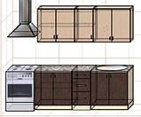 "Кухня ""Оптима"" длина 2,0 м - вариант №2, фото 2"