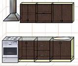 "Кухня ""Оптима"" длина 2,0 м - вариант №3, фото 2"
