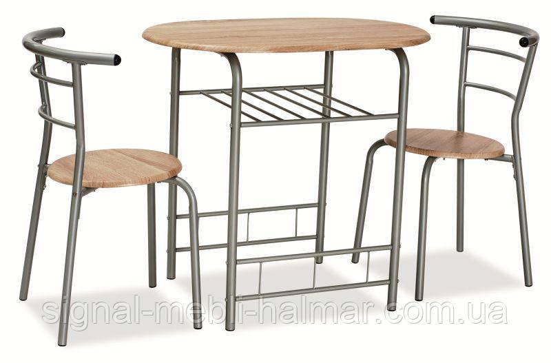 Комплект стол и 2 кресла Gabo (SIGNAL)