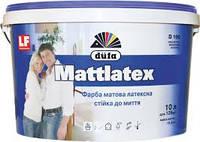 Краска латексная матовая Dufa Mattlatex D100 10л 15,6кг