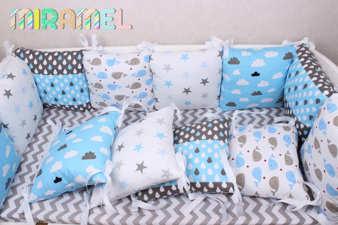 Компект постельного белья и защиты для мальчика