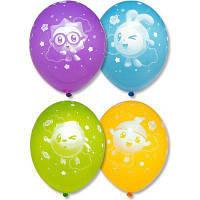 """Воздушные шары С Днём Рождения Малышарики 12"""" (30 см), 25 штук в упаковке Belbal Бельгия"""
