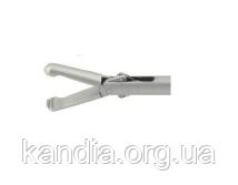 Зажим лапароскопический Аллис 3 мм с кремальерой Wanhe