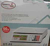 Весы торговые DT 52, 50 кг, фото 1