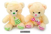 Мягкая игрушка Мишка с шарфом музыкальный 3270\55 сидячий 55 см.