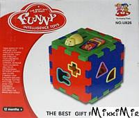 Куб, развивающая игрушка, ESSA