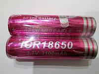 Аккумулятор ICR  Li-ion 18650  3,7 вольт 3100  мА/ч