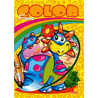 Динозаврик. Водяна розмальовка. Fun color, фото 1