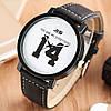 """Кварцевые часы """"14"""" (white) - гарантия 6 месяцев, фото 5"""
