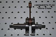Коленвал для бензокосы, мотокосы 1Е40F, фото 1