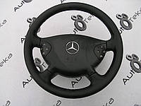 Руль черный дорестайлинг Mercedes e-class w211