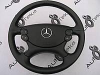Руль черный с AirBag рестайлинг Mercedes e-class w211, фото 1