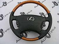 Руль черный с AirBAg для Lexus LS430 (UCF30)
