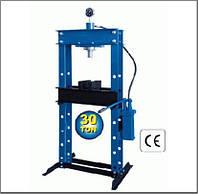 Пресс гидравлический 30 тонн (вертикальный насос П-10030 NEW)