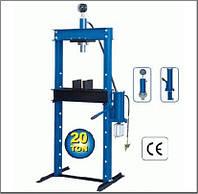Пресс пневмо-гидравлический 20 тонн (вертикальный насос П-1002ТПГ NEW)