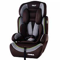 Автокресло ребенку универсальное Tilly Consul T-531 для 1-12 лет Тилли Консул 9-36кг