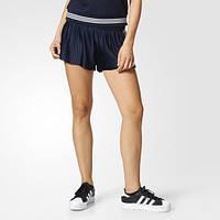 Модные плиссированные шорты женские adidas Originals 3-Stripes BK2315 - 2017