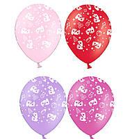 """Воздушные шары Детские пяточки 12"""" (30 см), 50 штук в упаковке Belbal Бельгия"""