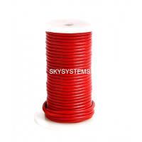 3,0 мм Кожаный шнурок   Цвет: Красный
