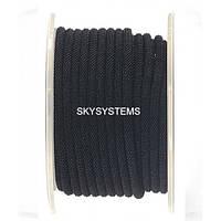 Шелковый шнур Милан 221 | 4.0 мм Цвет: Черный 01