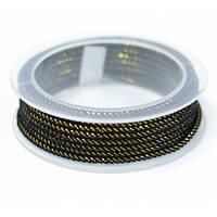 Шелковый шнур Милан 235 | 3.0 мм Цвет: Черный 01