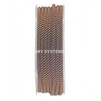 Шелковый шнур Милан 226   3.0 мм, Цвет: Коричневый 34