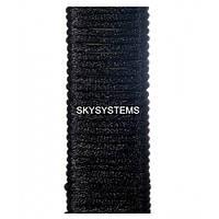 Шелковый шнур гладкий   1.0 мм Цвет: Черный 01