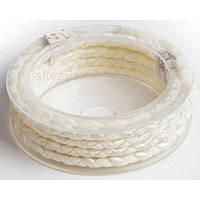 Шелковый шнур Милан 222 | 5.0 мм Цвет: Белый 02