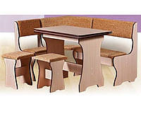 Кухонный уголок Эконом 2 Mobili&Vetro 1400*100*460 h 810
