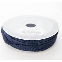 Шелковый шнур Милан 915 | 1.5x6.0 мм Цвет: Синий